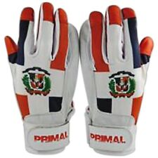 Dominican Republic Baseball Batting Gloves Size Large By Primal Baseball