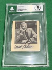 Arnold Palmer Authentic Autograph Beckett PGA