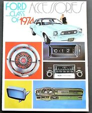 ORIGINAL 1974 FORD FACTORY CAR & TRUCK ACCESSORIES BROCHURE ~ 12 PAGES ~ 74FA