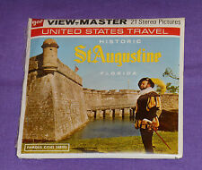 vintage HISTORIC ST. AUGUSTINE FLORIDA VIEW-MASTER REELS new/sealed