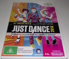 Just Dance 2014 Nintendo Wii PAL *Complete* Wii U Compatible