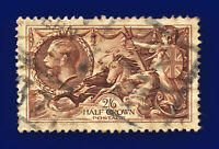 1934 SG450 2s6d Chocolate-Brown N73(1) Good Used Cat £40 cqbh