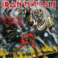 IRON MAIDEN – THE NUMBER OF THE BEAST – NEW VINYL LP ALBUM