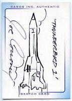 Thunderbirds Are Go! Movie Sketch Card by Joe Corroney Thunderbird #1