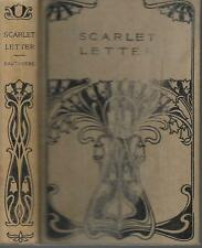 Vintage The Scarlet Letter by Nathaniel Hawthorne W. B. Conkey Company,Publisher
