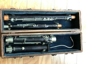 Old Historical Bassoon, probably from France.