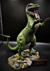 Aurora Allosaurus original 1972 dinosaur Professionally AIR BRUSHED built model