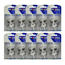 60pcs(10pack) Hearing Aid Batteries Zinc Air Size 13 A13 PR48 1.4V