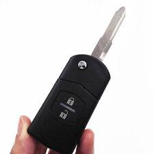 433MHZ Flip Keyless Entry Remote Key Fob Case 2Buttons for Mazda 3 6 M3 M6 Logo