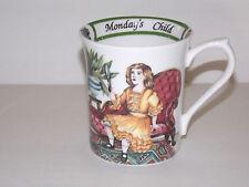 Monday's Child Birthday Week Mug - A Churchill Brand Queen's - England