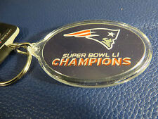 NEW ENGLAND PATRIOTS SUPERBOWL LI CHAMPIONS KEYRING BRAND NEW