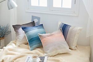 "2PC Sofa Pillow Covers Throw Cushion Square Case Home Decor Gift 18x18"""