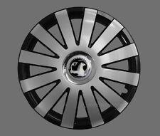 4x14'' Wheel trims Hub caps fit Vauxhall Corsa Astra  - silver black 14'' new