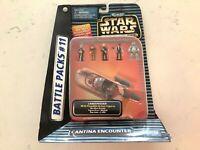 Star Wars ACTION FLEET Micro Machines - CANTINA ENCOUNTER - Battle Packs #11