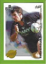 2001SELECT NRL IMPACT SERIES-ACCOLADES-A4-RYAN GIRDLER-PANTHERS
