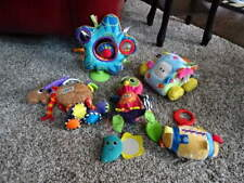 LOT OF 5 LAMAZE PLUSH BABY TOYS TAGGIES INTERACTIVE CAR OWL MOOSE