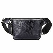 Waist Bag Female Casual Women Leather Pack Pouch Chest Lady Wide Strap Belt New