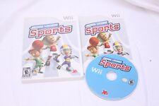 Nintendo Wii -  Junior League Sports - Complete