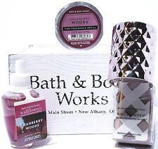 Bath & Body Works Cranberry Woods ScentPortable, Pink Metallic Wallflower,Refill