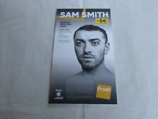 SAM SMITH - THE THRILL OF IT ALL MEGA RARE!!!PLV / FRENCH DISPLAY 14 X 25 CM