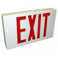 WESTINGHOUSE LED EXIT SIGN WITH BATTERY BACKUP NEW