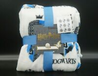 Harry Potter  Hogwarts  fleece Decke Schwarz 120 Cm X 150Cm  Kuscheldecke Blau