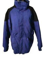 Maxam Mountain Size 2X Mens Goose Down Blue Ski Hooded Winter Coat