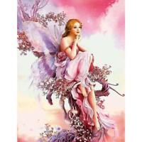 5D Fairy Butterfly DIY Diamond Embroidery Painting Cross Stitch Kits Home Decor