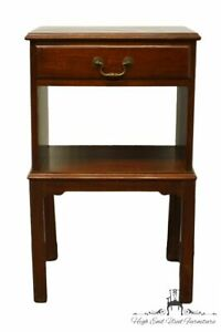 """MORGAN MASTERPIECE Solid Mahogany Traditional Style 17"""" Open Cabinet Tiered N..."""