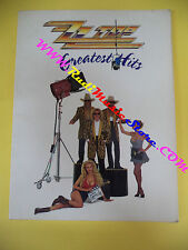 SPARTITO ZZ TOP Greatest hits 1992 international music IMP no cd mc lp dvd (*)