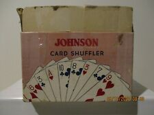 Vintage Nestor Johnson Card Shuffler in Original Box No. 50
