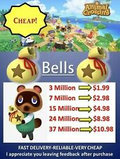 Animal Crossing New Horizons Bell, Nook Tickets, - Fast Delivery Online Now🔥🚀