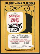 I'll Make A Man Of The Man 1966 Walking Happy Sheet Music