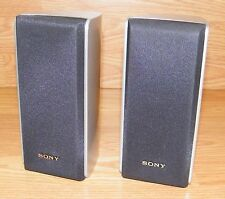 Sony (SS-MSP607B) Set of 2 Speakers For HT-DDW670T Surround System **NO Wires**