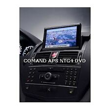 2019 Mercedes-Benz DVD COMAND APS Europa NTG4 W204  v.16 2018-2019 (New Version)