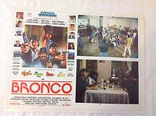 RARE VINTAGE MEXICAN MOVIE POSTER 1991 Bronco Lupe Ramiro Javier Jose Luis