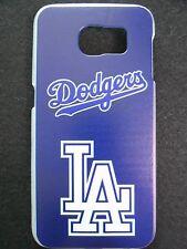 MLB Los Angeles Dodgers Logo Samsung Galaxy S6 G920 Plastic One-Piece Slim Case