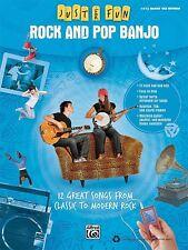 Rock and Pop Banjo Sheet Music Just for Fun Series Banjo Book NEW 000322280