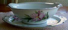 "HIRA FINE CHINA FROM JAPAN. ""MONTCLAIR"" PATTERN. GRAVY BOAT. (4321)"