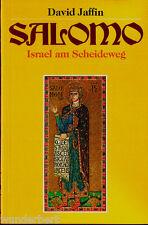 """David Jaffin - """" SALOMO - Israel am Scheideweg """" (1989) - tb"""