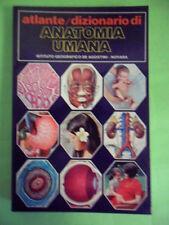 PISCITELLI. ATLANTE/DIZIONARIO DI ANATOMIA UMANA DE AGOSTINI 1972