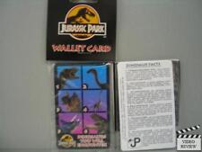 Wallet Card - Dinosaurs- Jurassic Park - New in original packaging