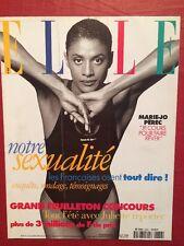ELLE du 1er Juil 1996 - JO Marie-Jo Perec Sexualite des Francaises Mode