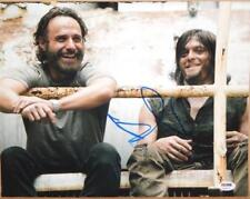 Andrew Lincoln SIGNED Autographed 11 X 14 Photo Rick The Walking Dead PSA/DNA