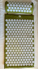 BED OF NAILS NWOT Original Green Accupressure Mat & Pillow Set Back Pain NEW