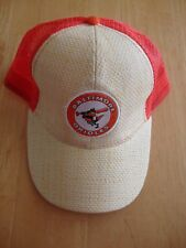 Baltimore Orioles Wicker Weave Baseball Ball Cap Hat SGA 8/22/16 Snap back retro
