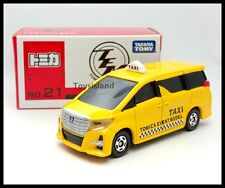 TOMICA EVENT MODEL 21 TOYOTA ALPHARD TAXI 1/65 TOMY DIECAST CAR 12