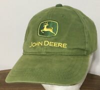 JOHN DEERE OWNERS EDITION Adult Hat Green Baseball Cap Nothing Runs Like A Deere