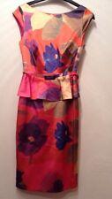BNWT ❤️Coast ❤️Size 6 Danita Duchess Satin Multi Floral Dress (36 EU) XS New