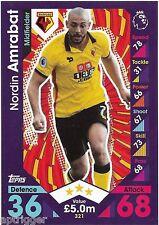 2016 / 2017 EPL Match Attax Base Card (321) Nordin AMRABAT Watford